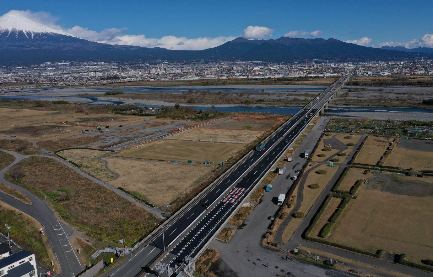 令和元年度 1号富士川橋舗装工事